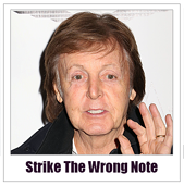 Las Vegas Advertising Advice Strike The Wrong Note