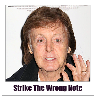Tampa Bay Advertising Advice Strike The Wrong Note