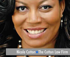 Fayetteville Small Business Owner Nicole Cotton Lawyer