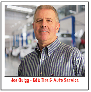 Joe Quigg Ed's Tire Advertising on Fayetteville Radio