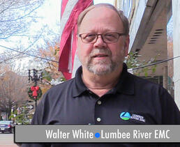 Walter White Lumbee River EMC Advertises on Fayetteville Radio